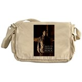 Back To Frank Black Book Cover Messenger Bag