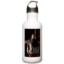 Back To Frank Black Book Cover Water Bottle