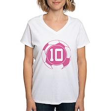 Soccer Number 10 Custom Player Shirt