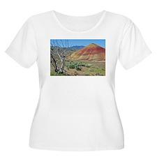 PAINTED HILLS Plus Size T-Shirt