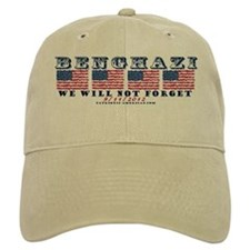 Benghazi - Never Forget (with Date) Baseball Baseball Cap