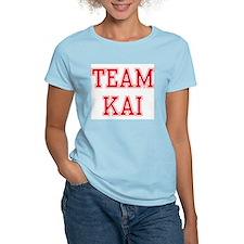 TEAM KAI  Women's Pink T-Shirt