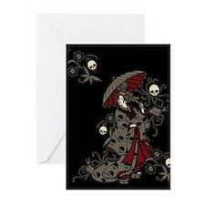 Gothic Geisha Greeting Cards (Pk of 20)