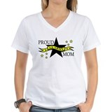 Proud Army Mom Hero Poem Ash Grey T-Shirt