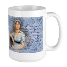 Jane Austen Novel Quote Mug