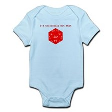I'd Critically Hit That - Red Infant Bodysuit