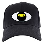 Ninja smily Black Cap