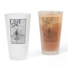 LoveLifts Drinking Glass