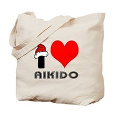 I Love Aikido Tote Bag