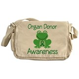 Organ Donor Awareness Messenger Bag