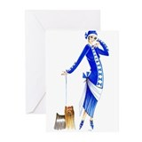 Yvette.png Greeting Cards (Pk of 10)