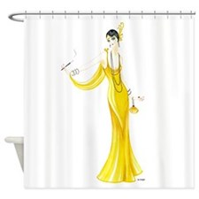 Daphne.png Shower Curtain