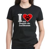 I Heart My Dogue de Bordeaux T-Shirt