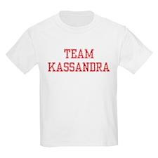 TEAM KASSANDRA  Kids T-Shirt