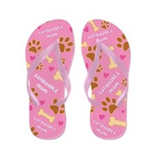 Bordoodle Mom Gift Flip Flops