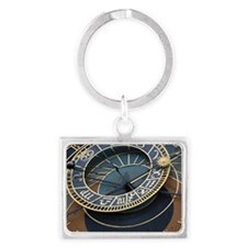 Prague astronomical clock Keychains