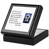 John 3:16 Keepsake Box
