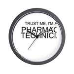 Trust Me, Im A Pharmacy Technician Wall Clock