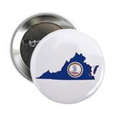 "Virginia Flag 2.25"" Button"