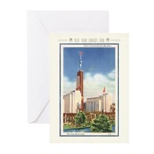 Soviet Building Greeting Cards (10 Pack)