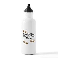 Australian Cattle Dog Mom Water Bottle