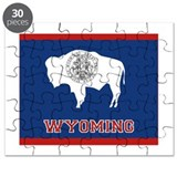 Wyoming Flag Puzzle