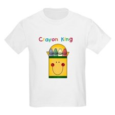 Crayon King Kids T-Shirt