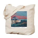 Beachhouse-Outerbanks by Cheryl Pedigo Tote Bag