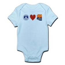 Peace Love Arizona Infant Bodysuit