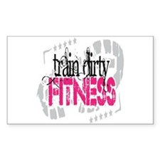 Train Dirty Fitness Decal