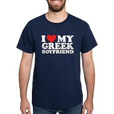I love My Greek Boyfriend T-Shirt