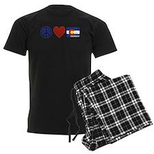 Peace Love Colorado Pajamas