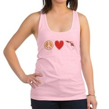 Peace Love Florida Racerback Tank Top