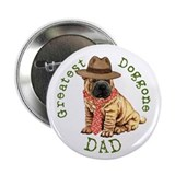 "Shar-Pei Dad 2.25"" Button"