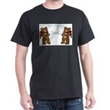 Teddy Bear Fencers Ash Grey T-Shirt
