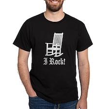 Funny I Rock - Rocking Chair T-Shirt