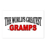 """The World's Greatest Gramps"" Postcards (Package o"