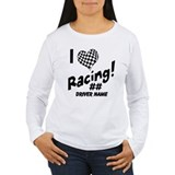 Custom Racing Long Sleeve T-Shirt
