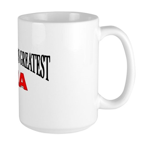 """The World's Greatest Ma"" Large Mug"