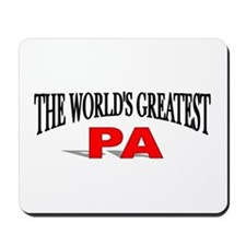 """The World's Greatest Pa"" Mousepad"