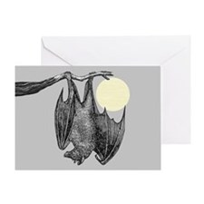 Hanging Bat Greeting Card