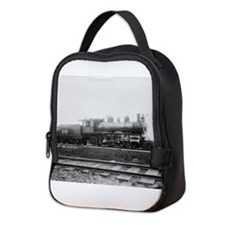 Train Neoprene Lunch Bag
