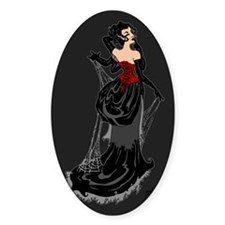 Black Widow Fairy Decal