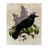 lilac-and-crow_sb.jpg Throw Blanket