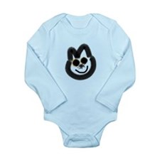 Smile kitty Long Sleeve Infant Bodysuit