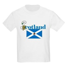 Flower Of Scotland Kids T-Shirt