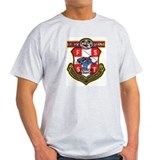 Austria Bundes Polizei Ash Grey T-Shirt