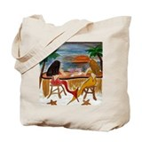 Martini Mermaids Tote Bag