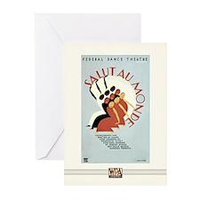 Salut au Monde Greeting Cards (10 Pack)