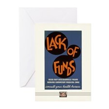 Lack of Funds... Greeting Cards (10 Pack)